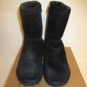 Women's UGG Black Roslynn Zipper Boots Size 11